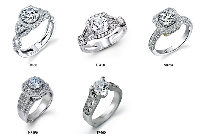 Simon G Pittsburgh Engagement Rings Casa DOro Jewelers
